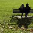Couple on bench — Stock Photo #39180707