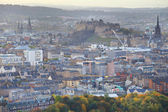 Aerial view of Edinburgh — Foto Stock
