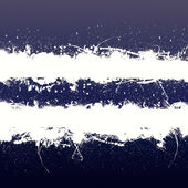 Grunge banner with white inky splashes — Stock Photo