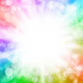 Beautiful abstract fantasy background, soft blurred rays of ligh — Stock Photo