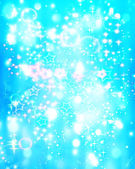 Winter Festive Christmas winter abstract background with bokeh l — Stock Photo
