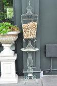 Decorate  bird cage — Stock Photo