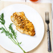 Grilled chicken breasts fillet  — Stock Photo