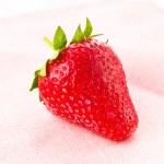 Ripe great strawberries berry , closeup — Stock Photo #26031241