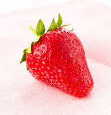 Ripe great strawberries berry , closeup — Stock Photo