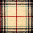 Fabric tartan plaid pattern as background  — Stock Photo
