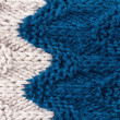 Colorful Happy Knitting background texture. — Stock Photo