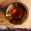 Whiskey Scotch on wooden background  — Stock Photo