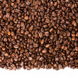 Stock Photo: Coffee beans isolated on white background with copyspace