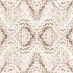 White knitting background texture. — Stock Photo