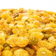 Stock Photo: Yellow Shiny Raisins