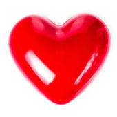 Valentines Day background with Red Heart — Stock Photo