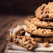Chocolate chip cookies — Stock Photo #34461225