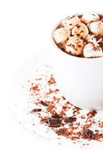 Hot dark chocolate — Stock Photo