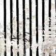 Stripped Background in grunge style. — Stock Photo