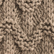 Knitted sweater wool texture background — Stock Photo