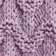 Knitted winter background — Stock Photo