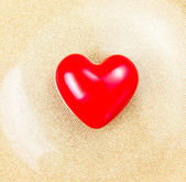 Beautiful Red Heart — Stock Photo