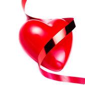 Grand coeur rouge — Photo