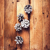 Wooden background. — Stockfoto