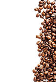 Brown roasted coffee beans — Stock Photo