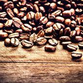 Macro Coffee beans — Stock Photo