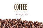 茶色のロースト コーヒー豆 — ストック写真