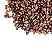 Grãos de café torrados — Foto Stock