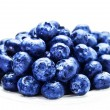 Fresh Blueberries isolated on white background close up. — Stock Photo #41447841