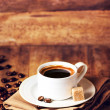 Постер, плакат: Cup of coffee with coffee beans