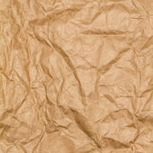 Crumpled recycled paper texture — Stock Photo