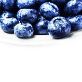 Fresh Blueberries  isolated — Stock Photo