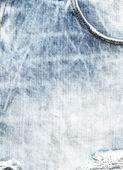 Texture bleu jeans — Photo