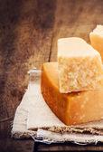Gourmet parmesan cheese — Stock Photo