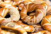 Fresh bread close up. — Stock Photo
