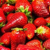 Strawberry Food Background. — ストック写真
