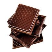 Chocolate bars stack — Stock Photo