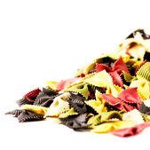 Colored Italian Pasta — Stock Photo
