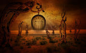 At the end of time — Stock Photo