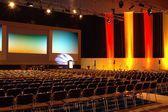 Bunte Konferenzraum — Stockfoto