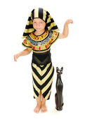 Boy Pharaoh — Stock Photo