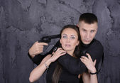 Capture hostage — Stock Photo