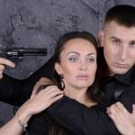 Capture hostage — Stock Photo