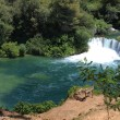Krka (horv. Krka) - National Park in Croatia — Stock Photo