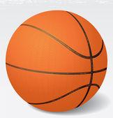 现实矢量篮球插画。8 eps — 图库矢量图片