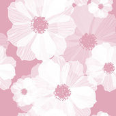 Romantic Flower Background — Vector de stock