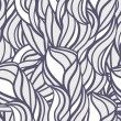 Abstract pattern with curl and swirl — Imagens vectoriais em stock