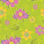 бесшовный цветочный узор день матери — Cтоковый вектор