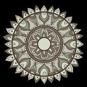 Fondo elegante círculo — Vector de stock