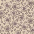 Royalty-Free Stock Vectorielle: Seamless floral vector pattern, Wallpaper, Vector Background